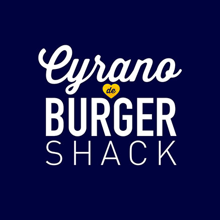 Cyrano de Burger Shack Logo Pack
