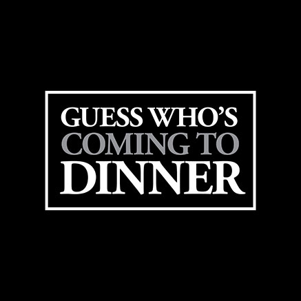 Guess Who's Coming To Dinner Logo Pack