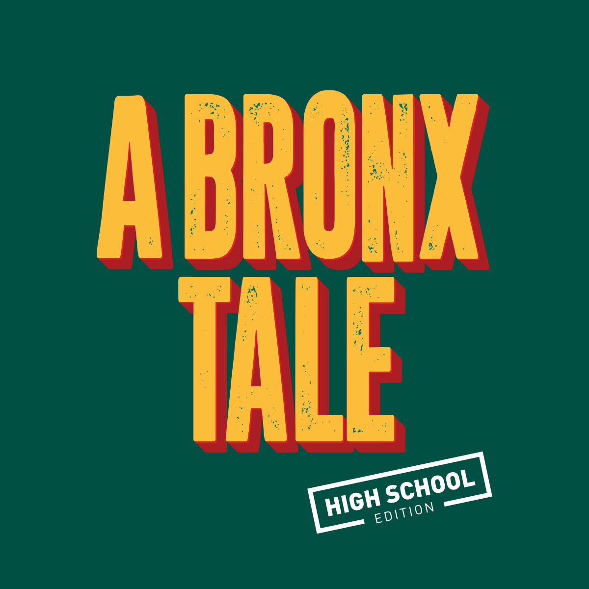 A Bronx Tale (High School Edition) Logo Pack