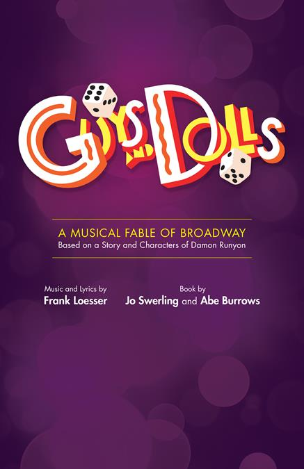 Guys and Dolls Theatre Poster