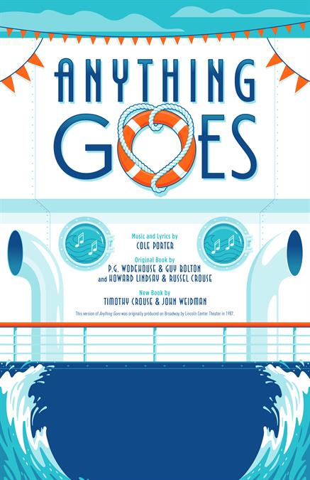 Anything Goes Theatre Poster