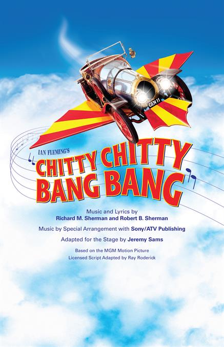 Chitty Chitty Bang Bang Theatre Poster