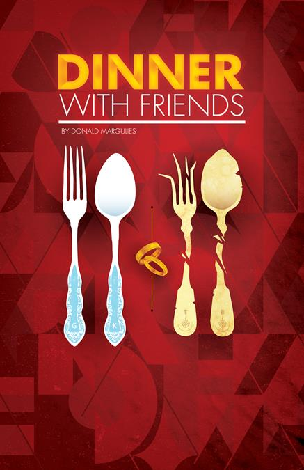 Dinner With Friends Theatre Poster