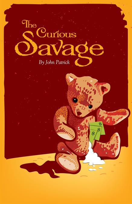 The Curious Savage Poster Design
