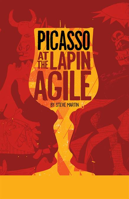 Picasso at the Lapin Agile Theatre Poster