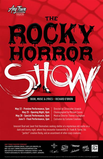 The Rocky Horror Show Poster