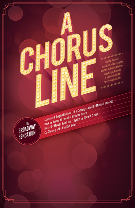 A Chorus Line Theatre Poster