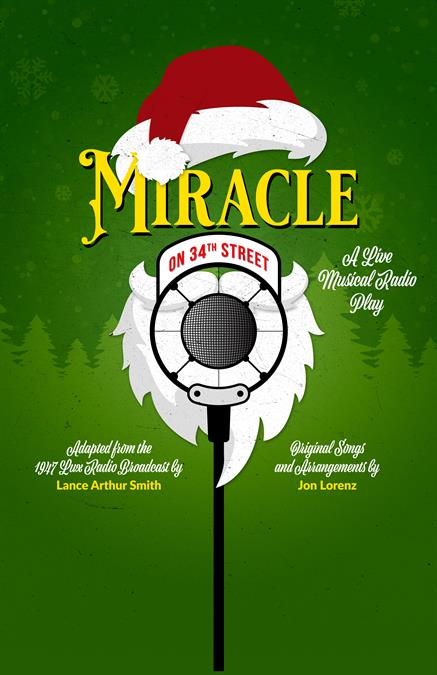 Miracle on 34th Street Theatre Poster
