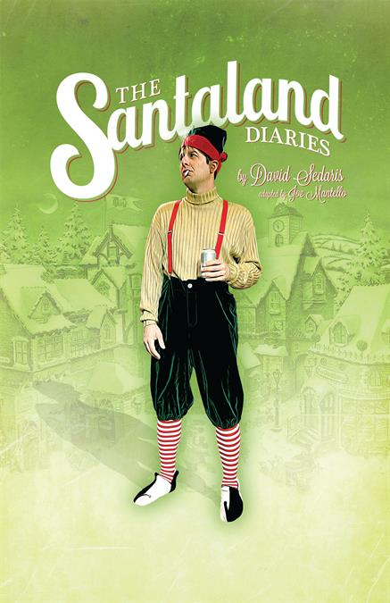 The Santaland Diaries Theatre Poster