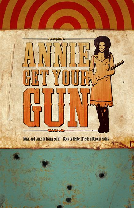 Annie Get Your Gun Theatre Poster