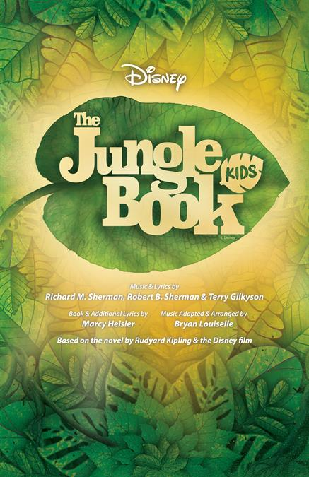 Disney's The Jungle Book KIDS Theatre Poster