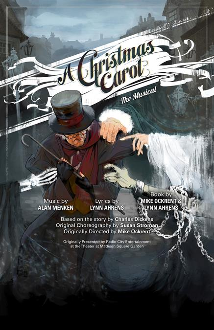 A Christmas Carol Theatre Poster