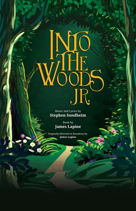 Into the Woods JR. Theatre Poster