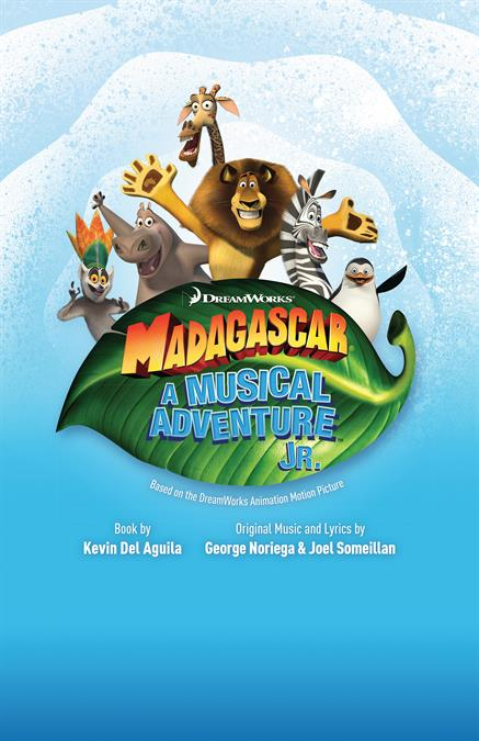 Madagascar JR. Theatre Poster