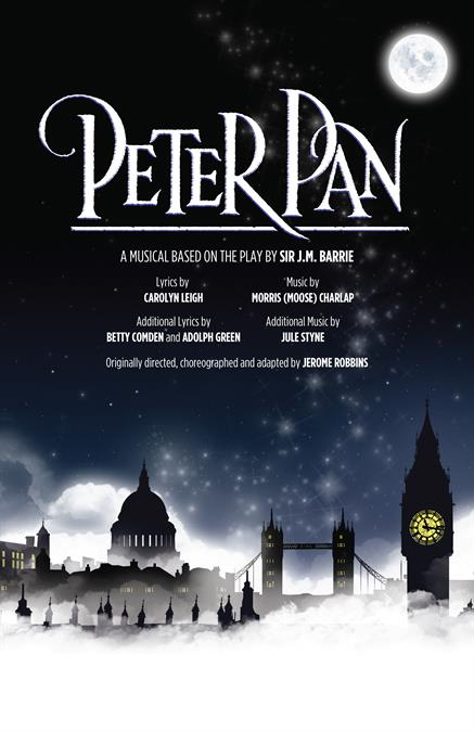 Peter Pan (1954 Broadway) Theatre Poster