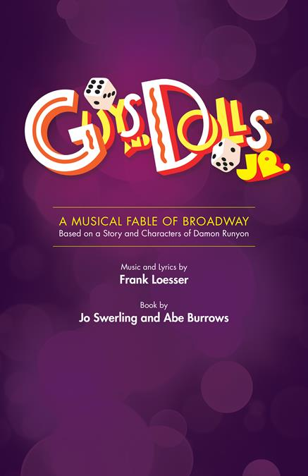 Guys and Dolls JR. Poster Design