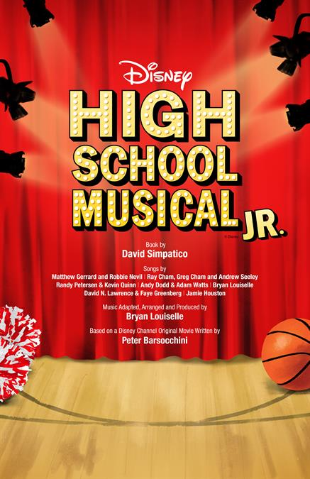 Disney's High School Musical JR. Theatre Poster