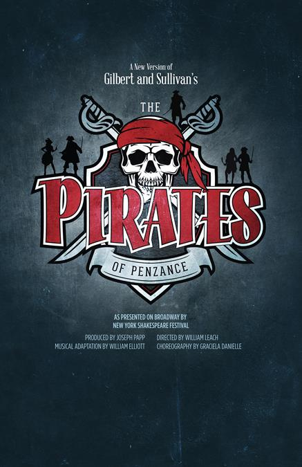 The Pirates of Penzance Poster Design