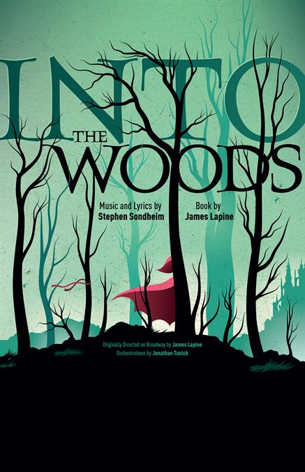 Into The Woods Poster Design