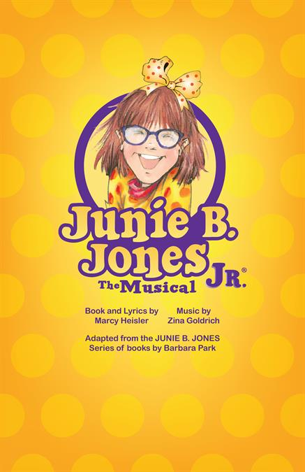 Junie B. Jones JR. Theatre Poster