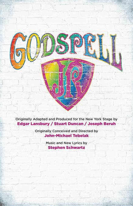 Godspell JR. Poster Design