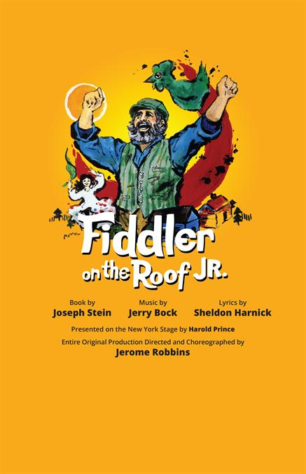 Fiddler on the Roof JR. Theatre Poster