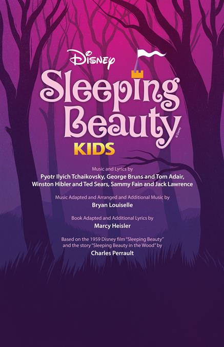 Disney's Sleeping Beauty KIDS Poster Design