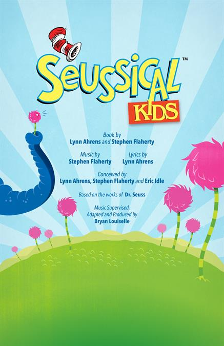 Seussical KIDS Theatre Poster