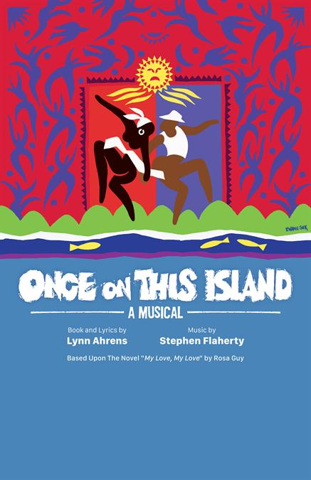 Once On This Island Poster Design