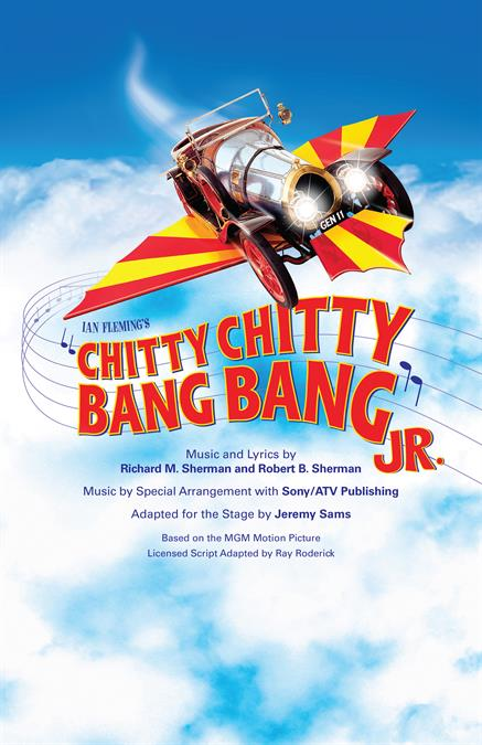 Chitty Chitty Bang Bang JR. Theatre Poster