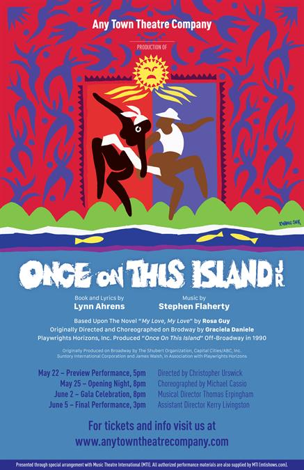 Once On This Island JR. Poster