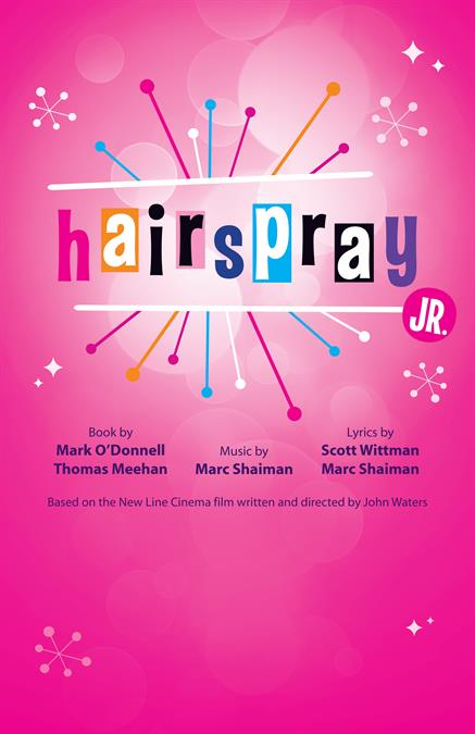 Hairspray JR. Theatre Poster