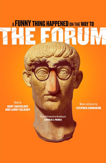 A Funny Thing Happened on the Way to the Forum Theatre Poster