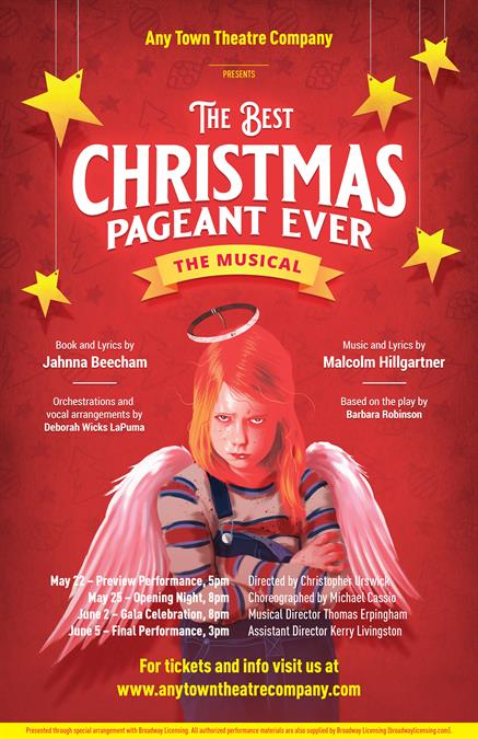 The Best Christmas Pageant Ever Poster