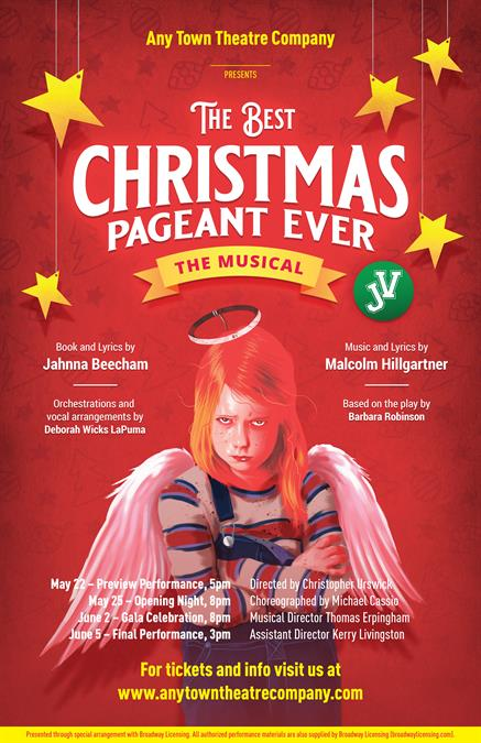 The Best Christmas Pageant Ever JV Poster