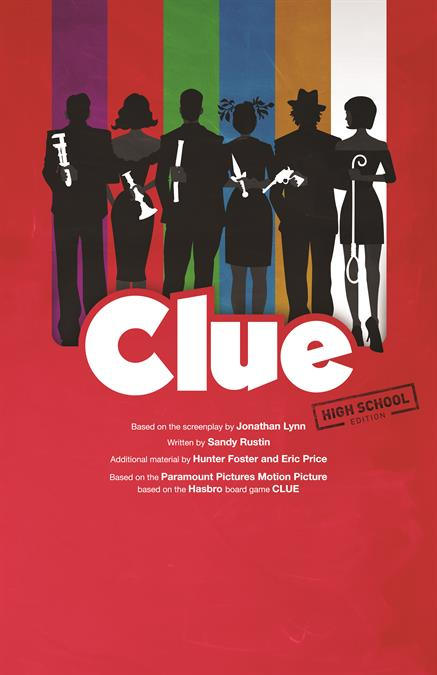 Clue (High School Edition) Theatre Poster