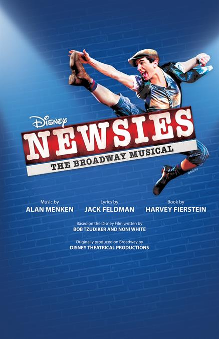 Disney's Newsies Theatre Poster