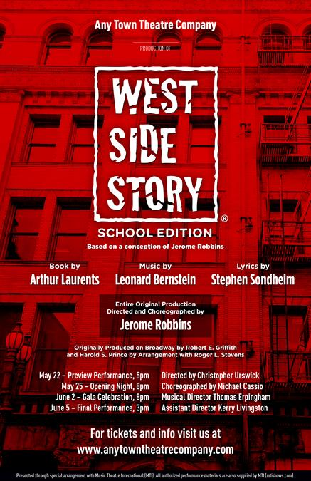 West Side Story (School Edition) Poster