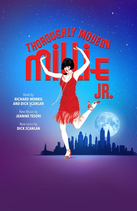 Thoroughly Modern Millie JR. Theatre Poster