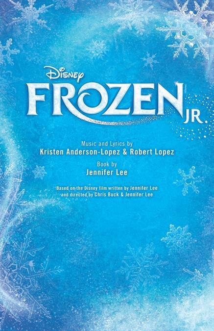 Disney's Frozen JR. Theatre Poster