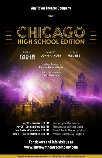 Chicago High School Edition Poster