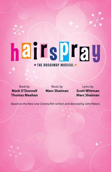 Hairspray Theatre Poster