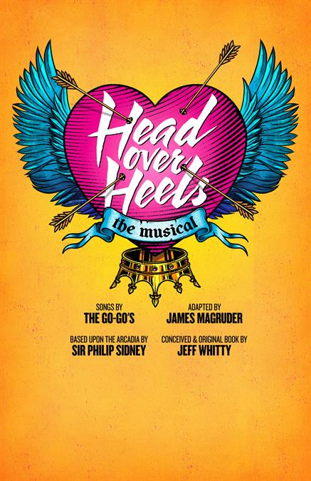 Head Over Heels Theatre Poster