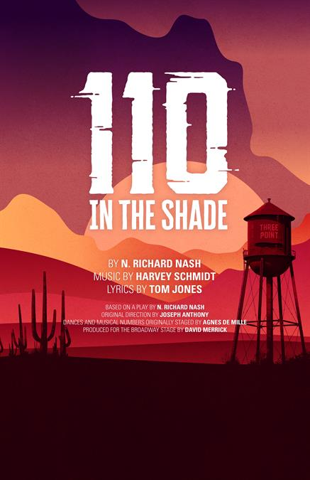 110 In the Shade Theatre Poster