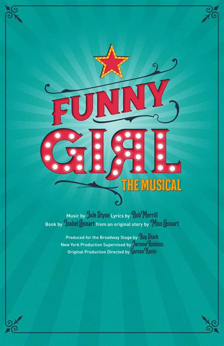 Funny Girl Theatre Poster