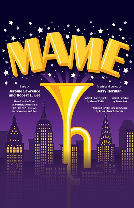 Mame Theatre Poster