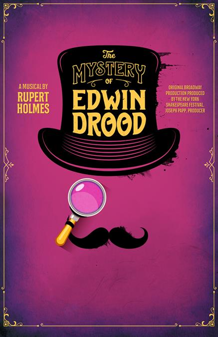 The Mystery of Edwin Drood Poster Design