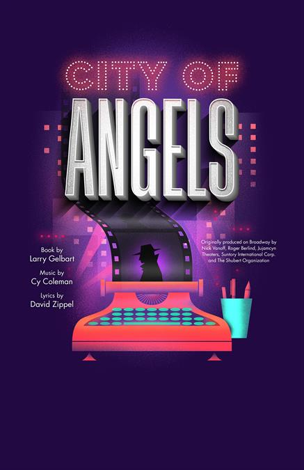 City of Angels Theatre Poster