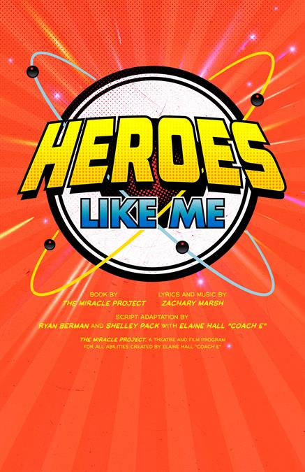 Heroes Like Me Theatre Poster