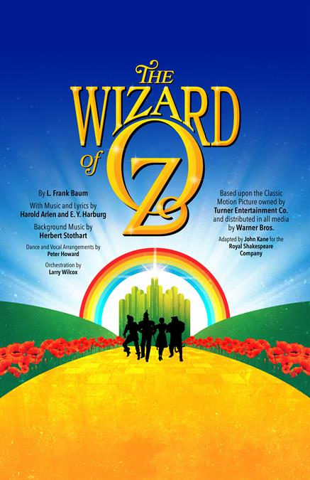 The Wizard of Oz (R.S.C. 1987) Theatre Poster